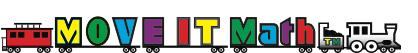 MOVE IT Math™ logo train for help with elementary school math