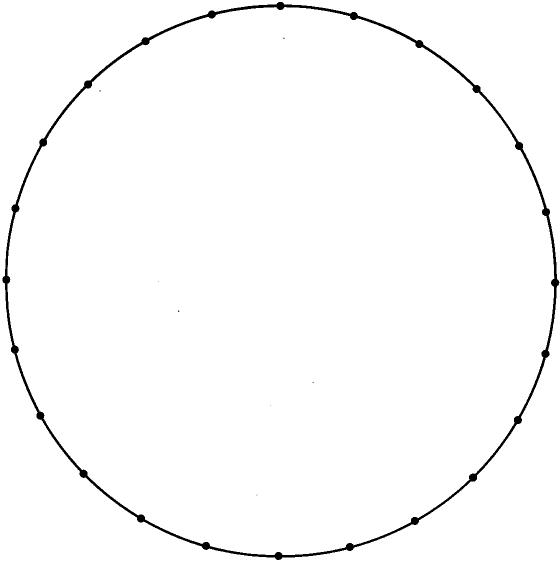 circular dot paper for discovering the geometry of the circle with